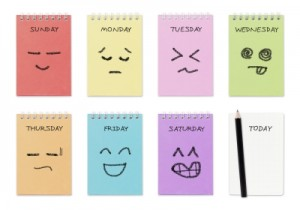 Week of Emoticons