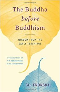 The Buddha Before Buddhism: Review of Fronsdal