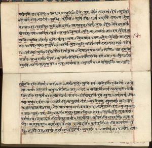 Sanskrit Page - Library of Congress image